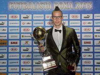 Hamšík vyhral anketu Futbalista roka. Piatykrát v histórii