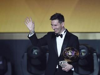 Najlepším hráčom sveta je opäť Messi