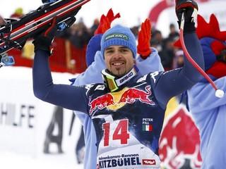 Zjazd v Kitzbüheli vyhral Fill, preteky po pádoch prerušili