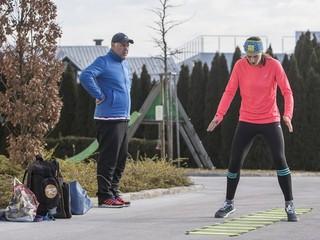 Bundy a čapice sú im zbytočné. Slovenky trénovali bez lyží