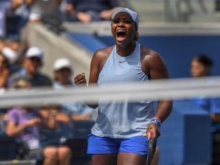 Premožiteľka Halepovej Townsendová je na US Open už v osemfinále