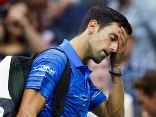 Djokovič predčasne končí na US Open, skrečoval zápas proti Wawrinkovi