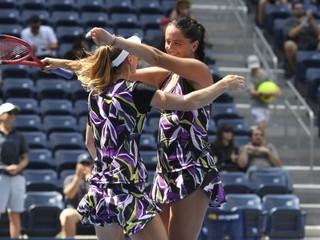Kužmová je v semifinále štvorhry na US Open. Je to jej životný úspech