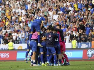Českí futbalisti prekvapivo prehrali, v kvalifikácii nestačili na Kosovo