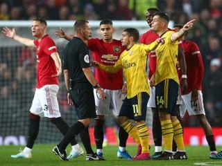 Futbalisti United nedokázali doma poraziť Arsenal, zmohli sa len na jeden gól