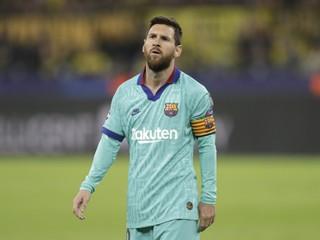 Messi vynechá zápas v Miláne proti Interu