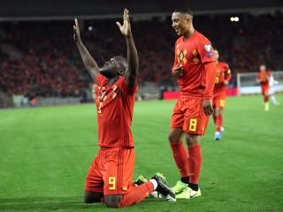 Belgicko strelilo súperovi deväť gólov a ako prvé si vybojovalo postup na ME