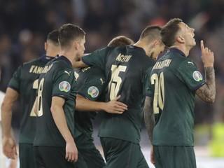 Taliani majú vo vrecku postup na EURO, Španieli nevyužili šancu