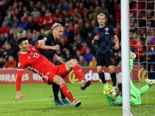 Chorvátsko nastúpi proti Slovensku bez dvoch opôr, Wales získal veľmi dôležitý bod