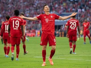 Bayern zvládol domáci zápas, Lewandowski prepisoval historické tabuľky