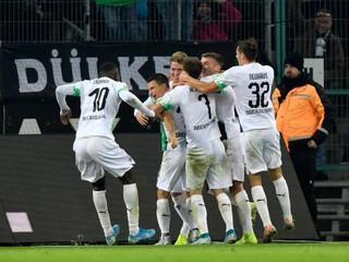 Bénes prispel asistenciou. Borussia Mönchengladbach zdolala Frankfurt