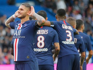 Icardi, Neymar, Mbappé. Paríž Saint-Germain v pohári deklasoval súpera