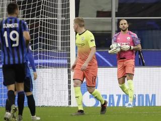 Za City musel dochytať obranca Walker, Atalanta zaznamenala prvý bod v Lige majstrov