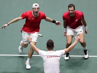 Kanada postúpila cez Austráliu do semifinále Davisovho pohára