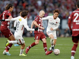 Pomohli Iniesta, Villa či Podolski. Vissel Kobe premiérovo vyhral japonský Cisársky pohár