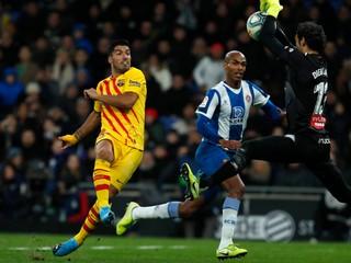 Barcelona stratila body s Espanyolom, Real sa dotiahol na čelo La Ligy