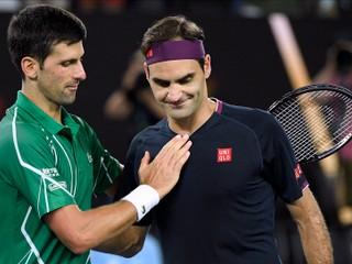 Federer stratil náskok. Djokovič: Klobúk dole za to, že vôbec nastúpil