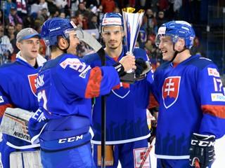 Slovenskí hokejisti zdolali Rusov a po roku opäť vyhrali Kaufland Cup