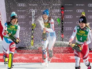 Vlhová vyhrala slalom v Kranjskej Gore a v hodnotení disciplíny predstihla Shiffrinovú