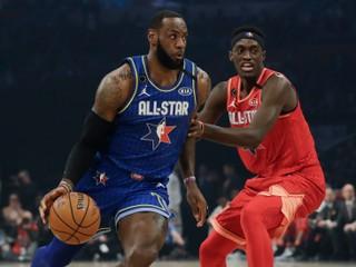 Zápas hviezd sa niesol v znamení spomienky na Kobeho Bryanta, zvíťazil Tím LeBron