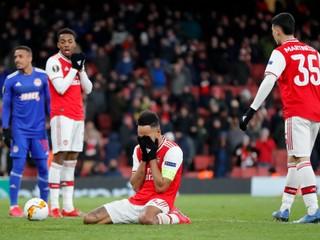 Arsenal prišiel o postup v závere. Je to strašne ťažké, vraví Aubameyang
