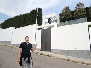 Šli sme za Messim do Barcelony. Pri jeho dome si nás obzeral dron (reportáž)