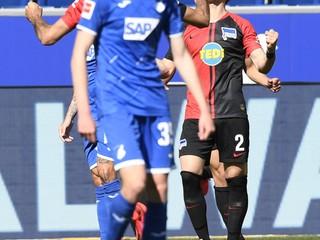 Pekarík pálil z voleja a bol z toho gól. Hertha šokovala