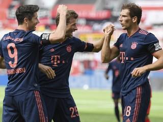 Bayern zostáva po reštarte naďalej nezdolaný a priblížil sa k titulu