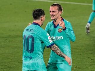 Dokonalá akcia. Messi s Griezmannom sa postarali o nádherný gól