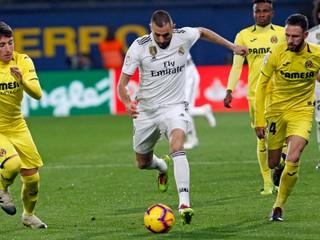 ONLINE PRENOS: Real Madrid - Villarreal (La Liga)