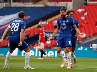 Manchester United pohorel, Chelsea si zahrá finále FA Cupu