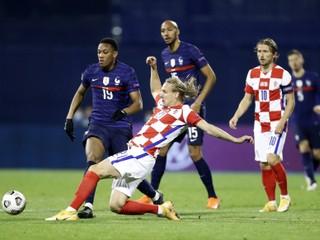 Chorvátsky futbalista musel cez polčas striedať, možno mal koronavírus