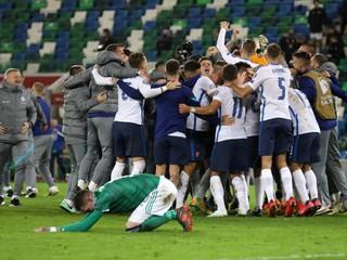 Slovenskí futbalisti postúpili na majstrovstvá Európy (minúta po minúte)