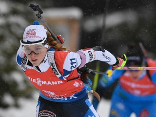 Röiselandová triumfovala v hromadnom štarte, výborný výkon predviedla Davidová