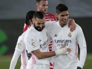 Real vyhral piaty raz v rade, Benzema strelil štyri góly za týždeň