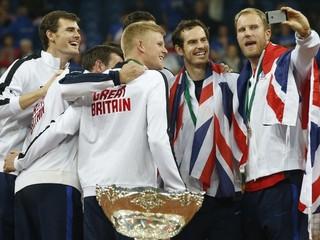 Briti vyhrali po prvý raz od roku 1936 Davisov pohár, rozhodol Murray