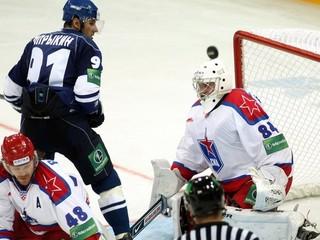 KHL: Petrohrad doma nestačil na Dinamo Moskva