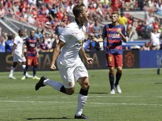Manchester zdolal Barcelonu, v USA vyhral všetky tri zápasy