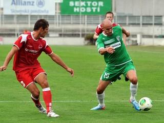 2. futbalová liga: Sedem gólov v Bardejove, Nitra prekvapujúco prehrala