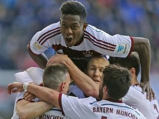 Bayern rozstrieľal Paderborn 6:0, Lewandowski a Robben dali po dva góly
