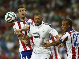 Superpohár: Real - Atletico 1:1, gól Realu dal Rodriguez