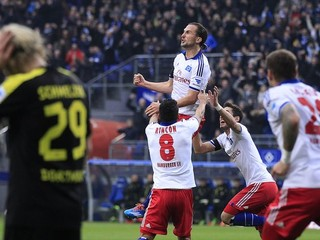 Dortmund prehral v Hamburgu 0:3