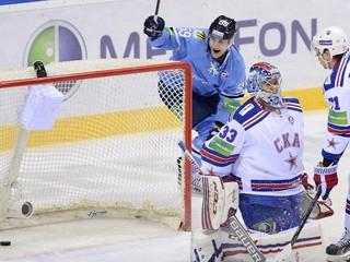 Šatan nepremenil posledný nájazd, Slovan podľahol silnému Petrohradu 2:3