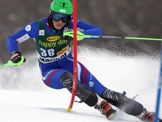 Slovenská slalomárka Vlhová trpí v starej kombinéze