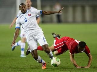 Slováci Gibraltáru gól nedali, pred 350 divákmi remizovali 0:0