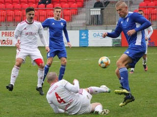 II. liga: Posledný Trebišov sa gólovo vzoprel. Prekvapil aj Bardejov