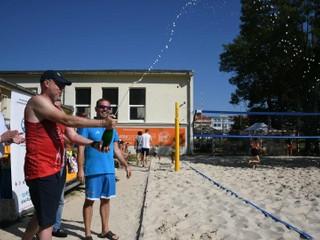 V Prešove otvorili nový areál plážového volejbalu