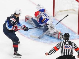 Slováci zdramatizovali zápas s USA, na šampionáte však skončili