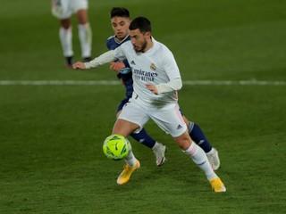 Real Madrid vedie ligovú tabuľku, na ihrisku opäť aj s Hazardom