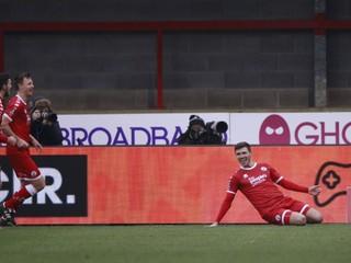 Ďalšie prekvapenie v pohári, účastníka Premier League vyradil štvrtoligista